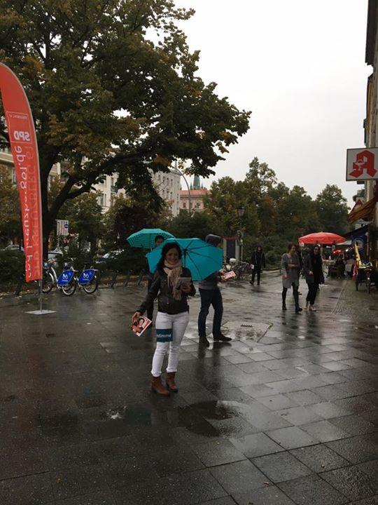 Auch der Regen hält uns nicht auf