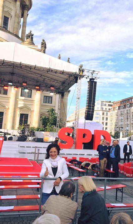 Martin Schulz gleich live am Gendarmenmarkt