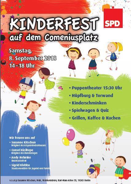 Einladung zum Kinderfest am 8. September