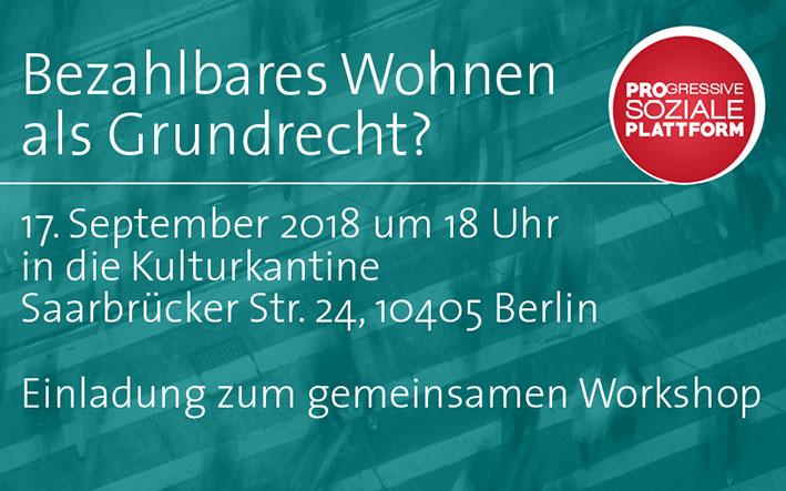 Wohnworkshop 2018