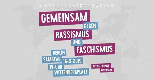 Gemeinsam zum Internationalen Tag gegen Rassimus