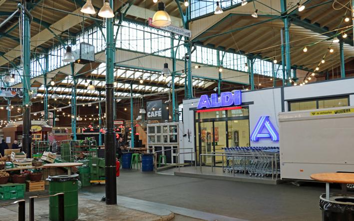 SPD-Fraktion setzt sich für Erhalt des Aldi in der Markthalle Neun ein